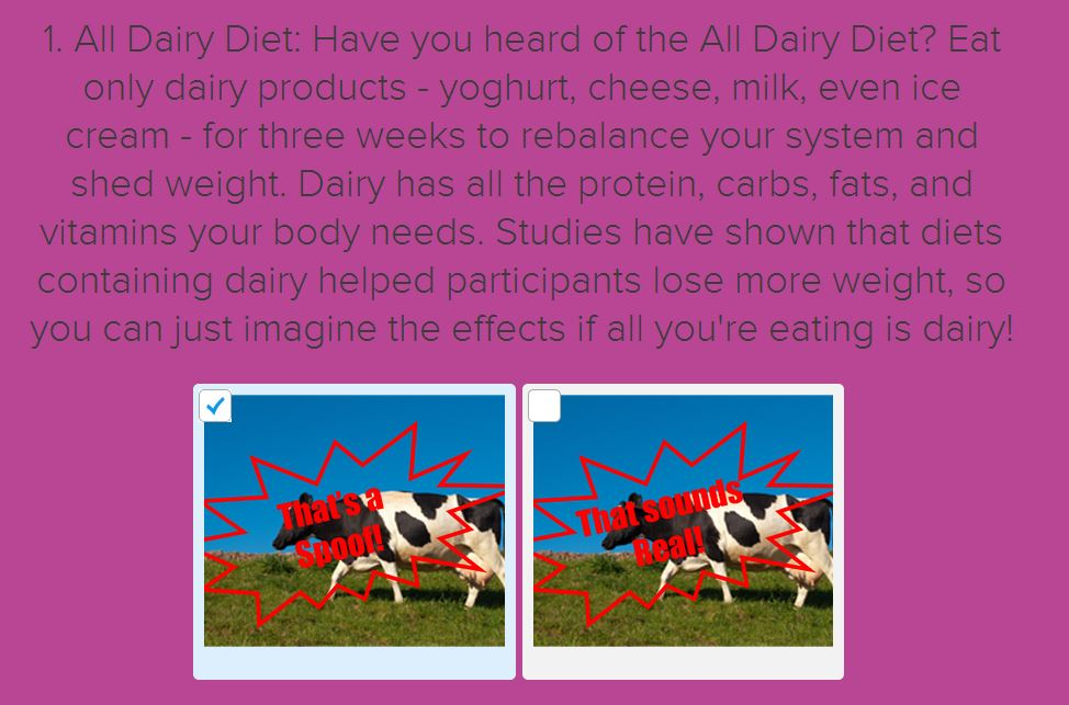 all dairy diet
