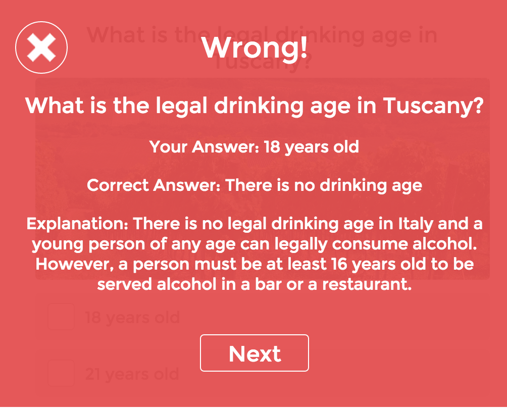 quiz correct answers