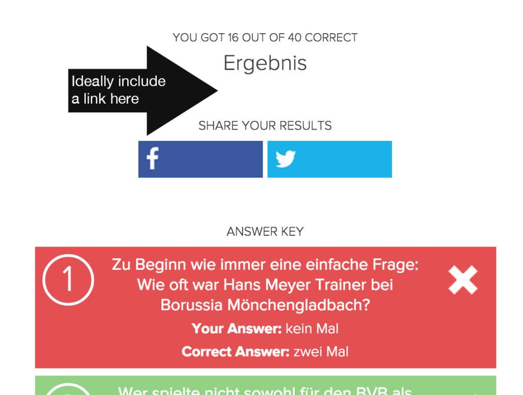 pub quiz result