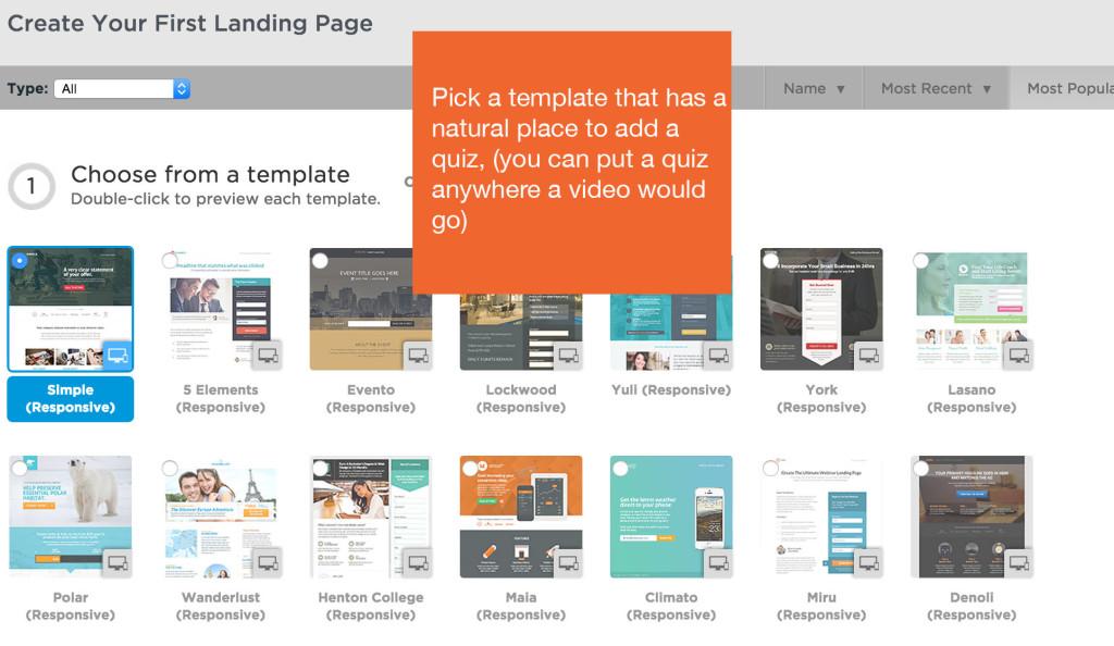 unbounce landing page templates
