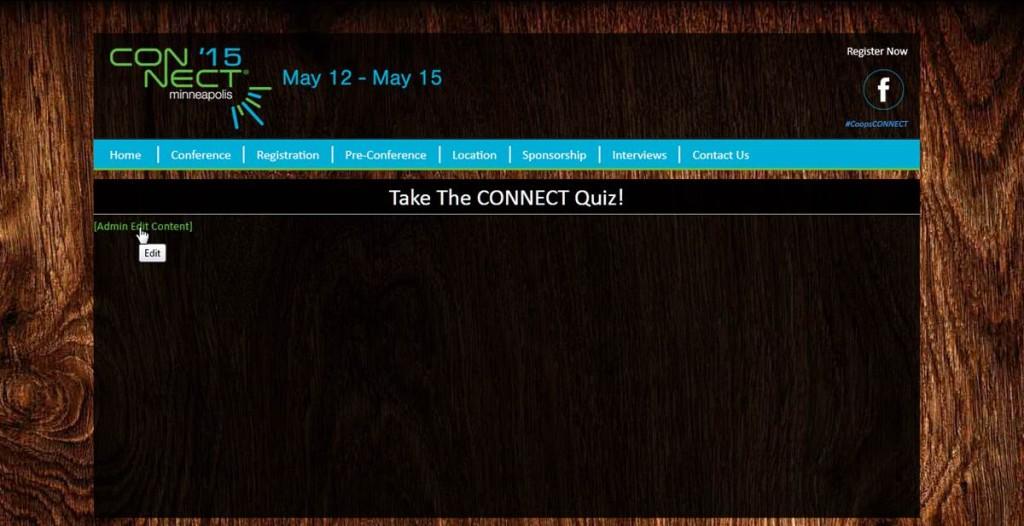 drupal admin quiz insert