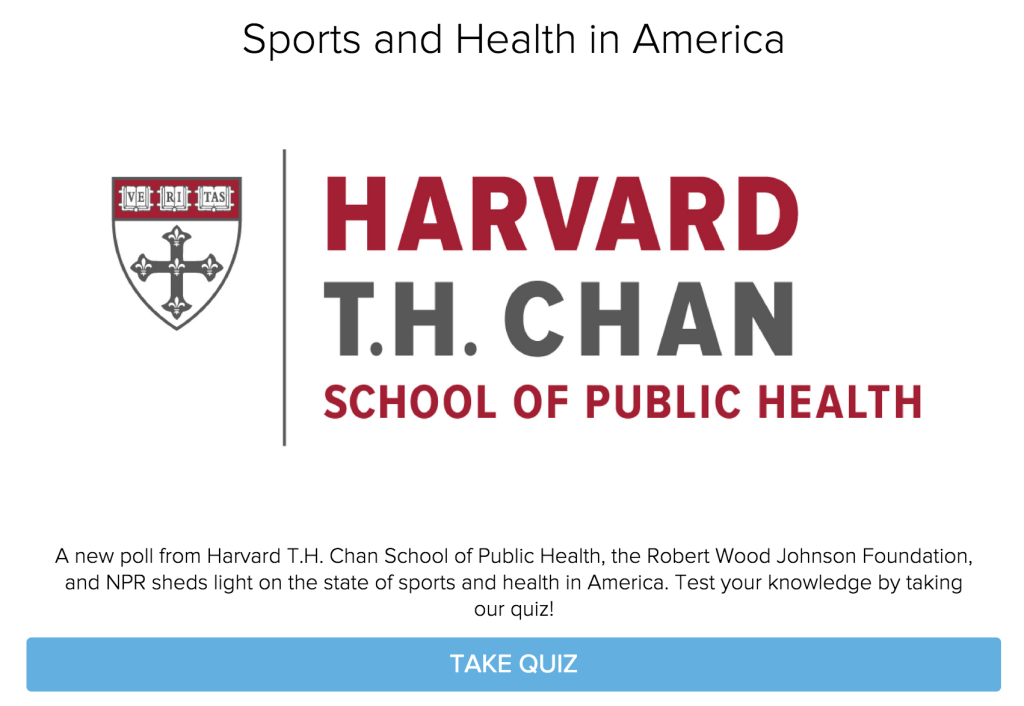 harvard public health quiz