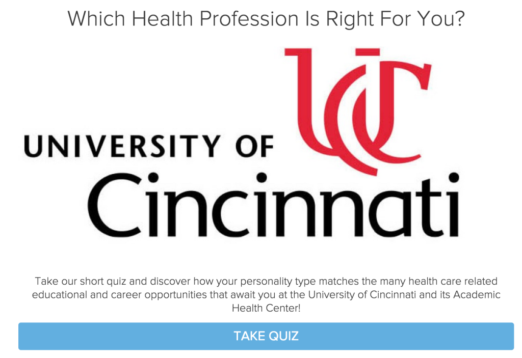 University of Cincinnati quiz