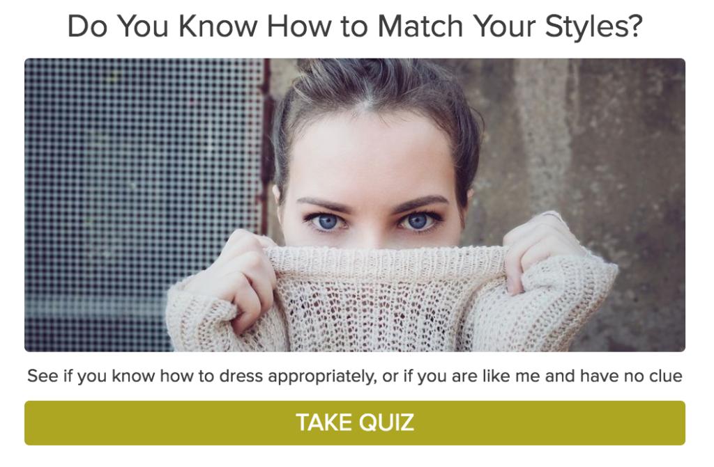 matching quiz