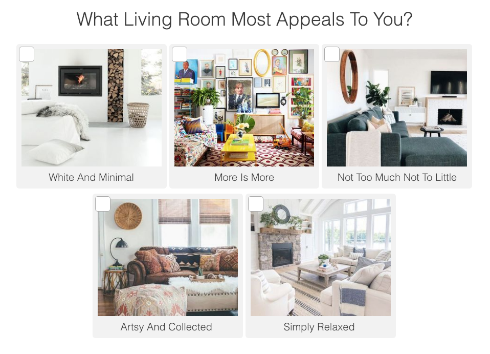 Living room interior design question with images of living rooms