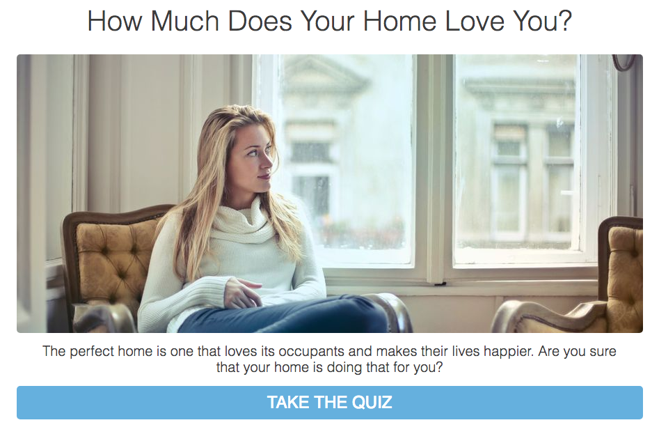 Woman looking out the window in How much Does Your Quiz Love You? Quiz cover