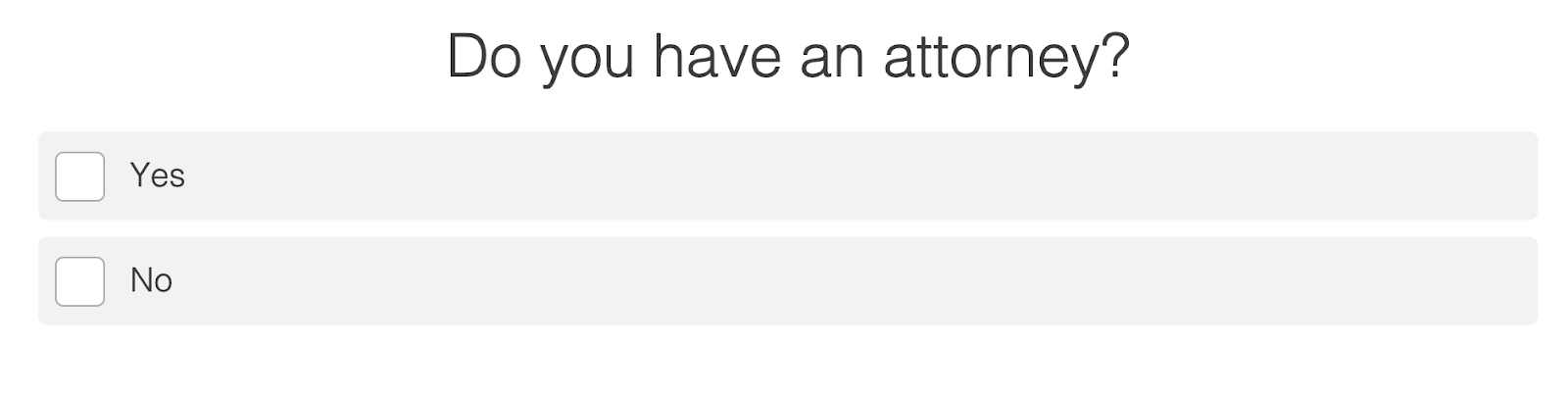 Do you have an attorney quiz question
