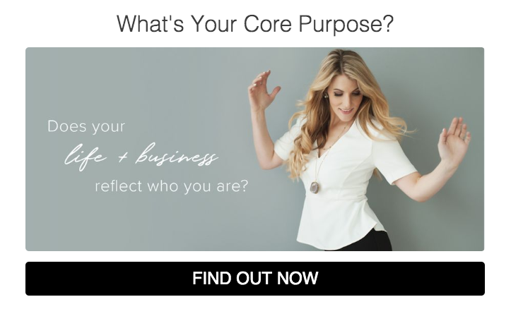 quiz cover What's Your Core Purpose?