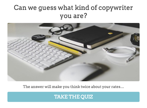 what type of copywriter are you quiz
