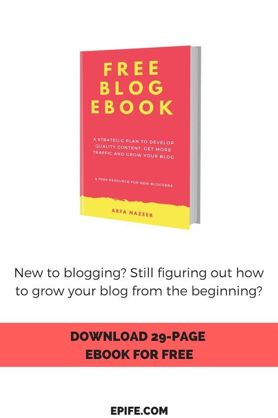 free blog ebook pin