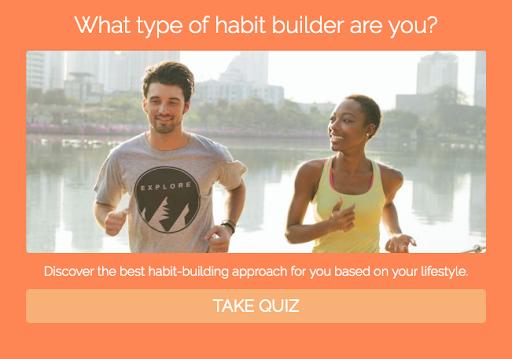 what type of habit builder quiz