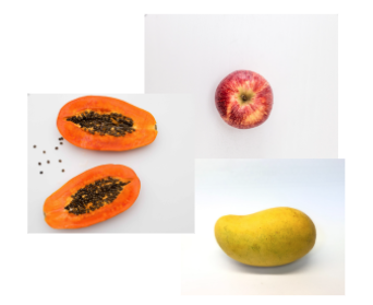 fruit pictures on white backgrounds