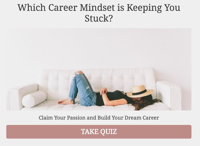 career mindset quiz cover