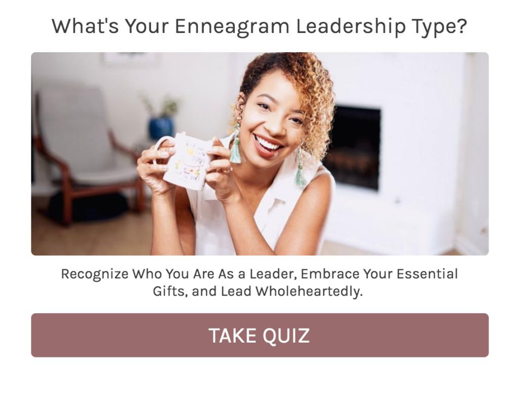 enneagram leadership quiz cover